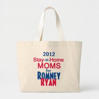Romney Ryan Large Tote Bag