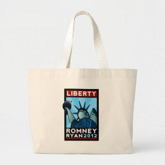 Romney Ryan Liberty Tote Bag
