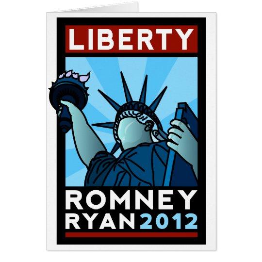 Romney Ryan Liberty Card