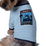 Romney Ryan Liberty Doggie Tee Shirt