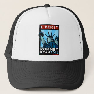 Romney Ryan Liberty Trucker Hat