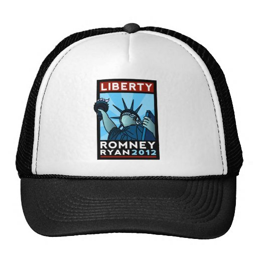 Romney Ryan Liberty Trucker Hat