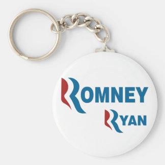 Romney - Ryan Llavero Redondo Tipo Pin