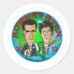 Romney Ryan los E.E.U.U. Etiqueta Redonda