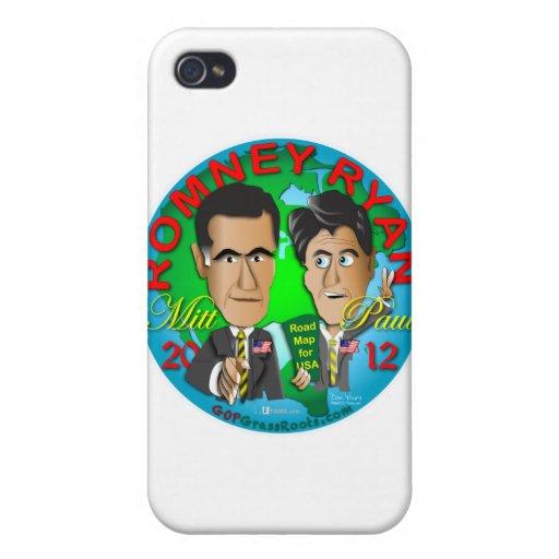 Romney Ryan los E.E.U.U. iPhone 4 Coberturas