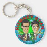 Romney Ryan los E.E.U.U. Llavero Personalizado