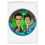 Romney Ryan los E.E.U.U. Tarjeta