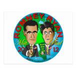 Romney Ryan los E.E.U.U. Tarjetas Postales