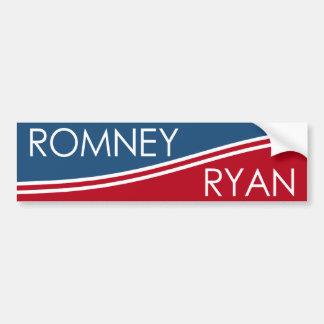 Romney Ryan - Modern Design Bumper Sticker