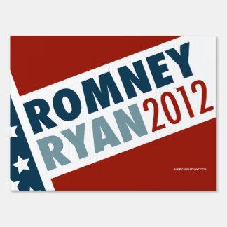 Romney Ryan muestra de 2012 yardas Señales