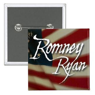 Romney Ryan, No Apologies Pinback Button