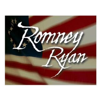 Romney Ryan, No Apologies Postcard