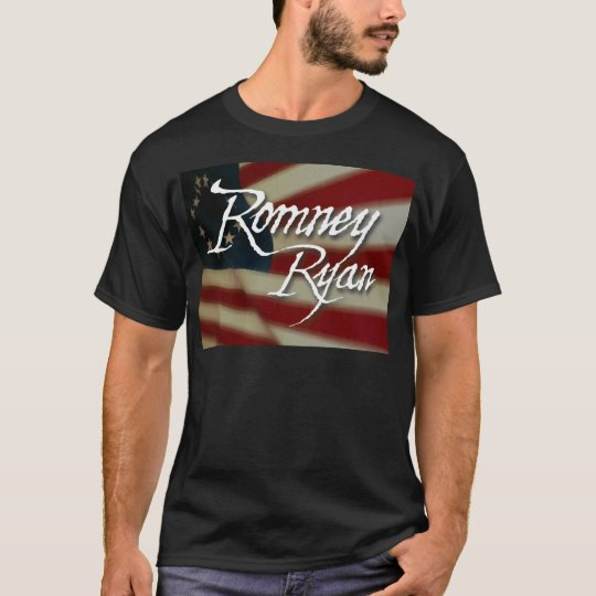 Romney Ryan, No Apologies T-Shirt