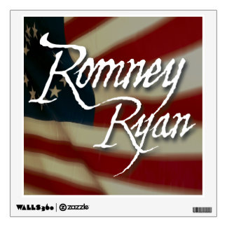 Romney Ryan, No Apologies Wall Sticker