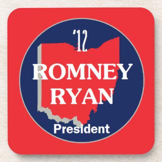 Romney Ryan OHIO Beverage Coaster