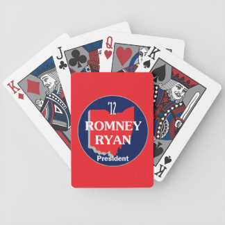 Romney Ryan OHIO Bicycle Playing Cards