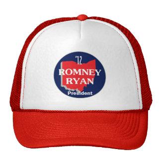 Romney Ryan OHIO Gorras