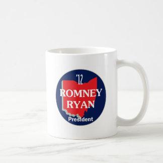 Romney Ryan OHIO Taza Clásica