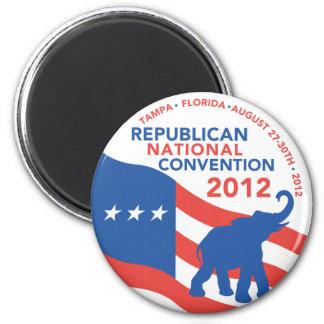 Romney Ryan para el presidente 2012 Imán Redondo 5 Cm