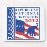 Romney Ryan para el presidente 2012 Tapetes De Raton