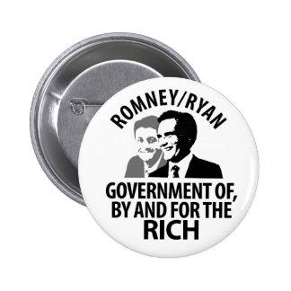 Romney, Ryan para los ricos Pin