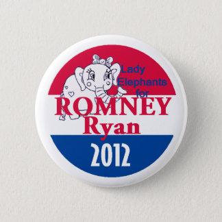 Romney Ryan Pinback Button