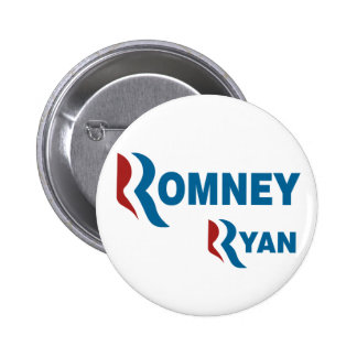 Romney - Ryan Pinback Button