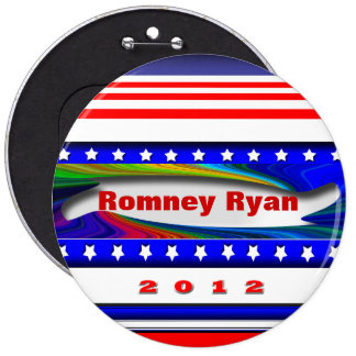 Romney Ryan Pinback Button