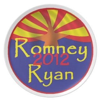 Romney Ryan Platos De Comidas
