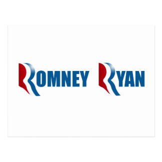 ROMNEY RYAN png Post Cards