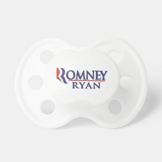 Romney Ryan Political Baby Pacifier