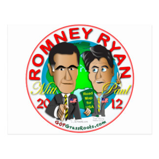 Romney Ryan Postal