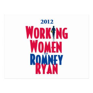 Romney Ryan Postales