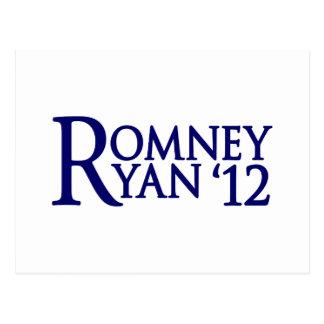 Romney Ryan Postcard