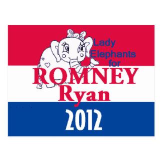 Romney Ryan Postcards