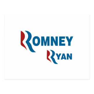 Romney - Ryan Postcard