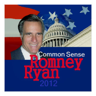 Romney Ryan Poster