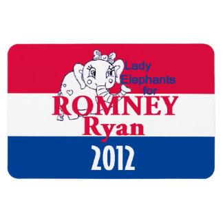 Romney Ryan Rectangular Magnet