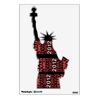 Romney Ryan Pro Liberty in 2012 Wall Decal