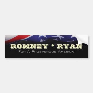 ROMNEY RYAN Prosperous America Bumper Sticker