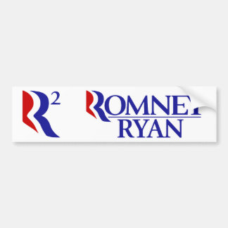 Romney Ryan - R2 - BOGO Bumper Stickers