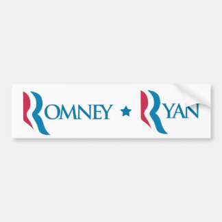 "Romney Ryan ""R"" Logo Bumper Sticker"