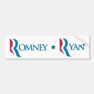 "Romney Ryan ""R"" Logo Bumper Sticker Car Bumper Sticker"