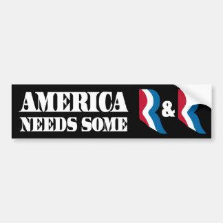 Romney - Ryan - R&R Car Bumper Sticker