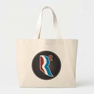 Romney Ryan R Squared Logo Round (Grey) Tote Bag