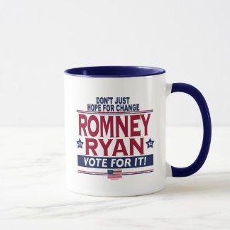 Romney Ryan Real Hope 2012 Mug