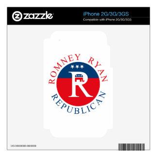 Romney Ryan Republican - 3R s iPhone 3 Skin