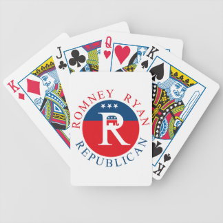 Romney Ryan Republican - 3R's Bicycle Playing Cards