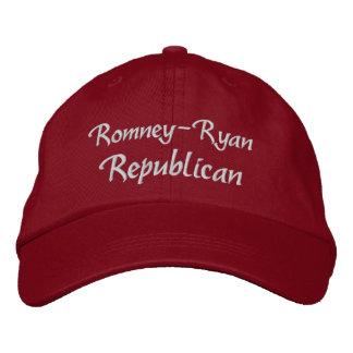 Romney Ryan Republican Embroidered Baseball Caps