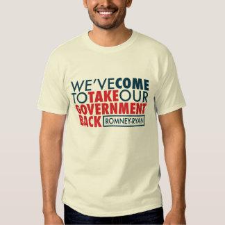 Romney-Ryan retira al gobierno Camisas